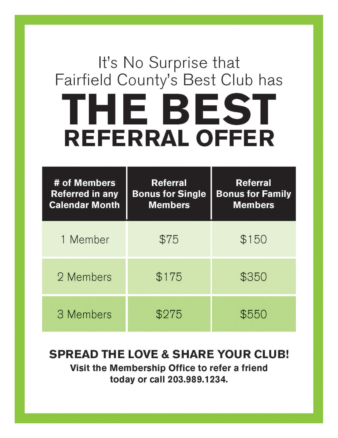 The Best Referral Offer