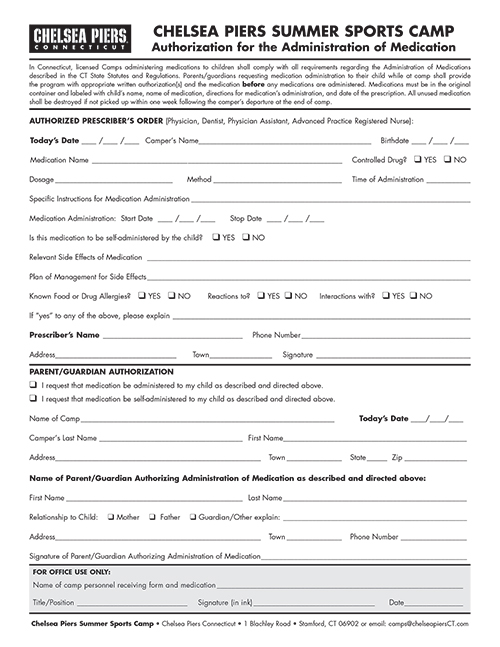 Medication Form