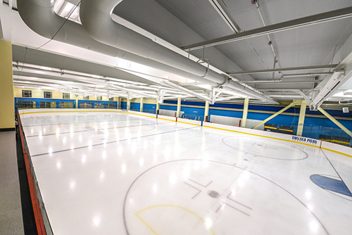 Ice Skating Overview at Chelsea Piers CT