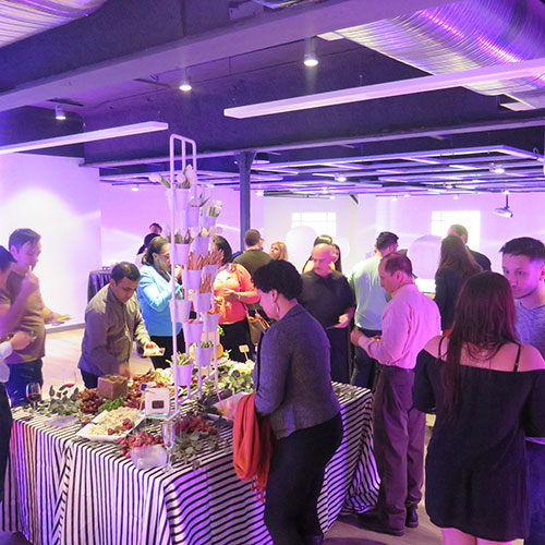 Corporate Events at the Loft at Chelsea Piers CT