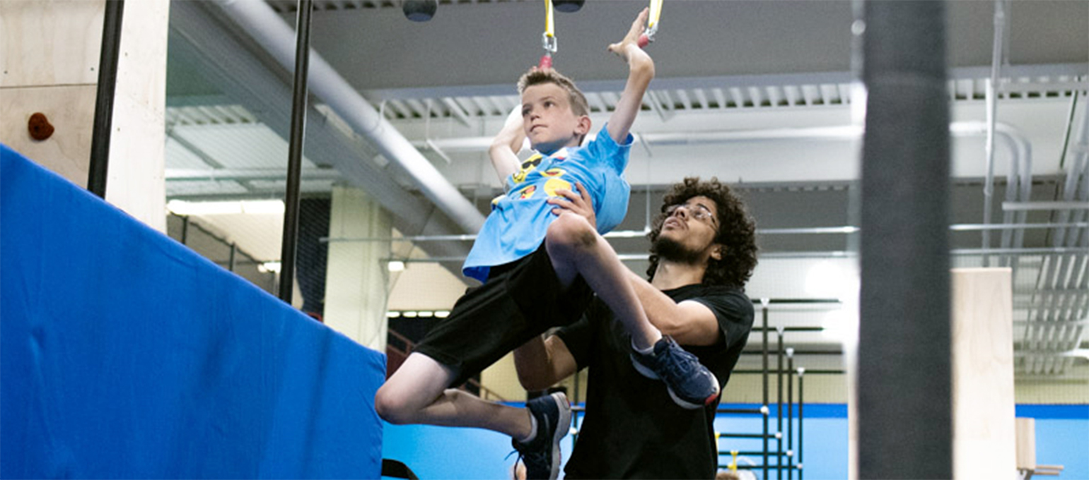 Ninja + Parkour Youth Classes