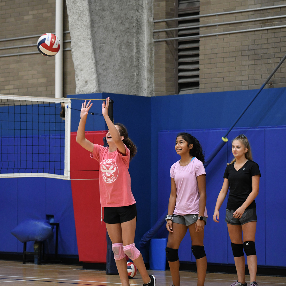 Lacrosse, Basketball and Volleyball Camps